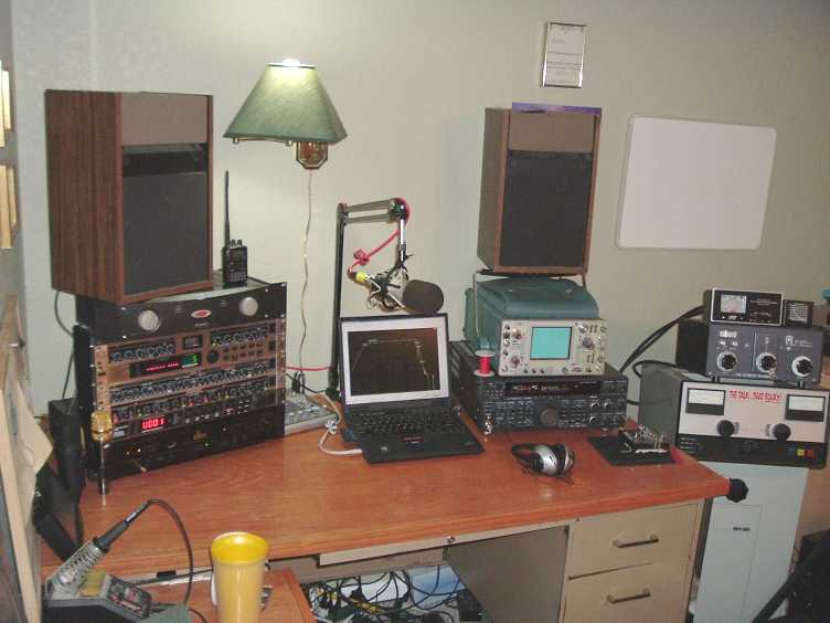 The N3JI Voodoo Audio Shack!